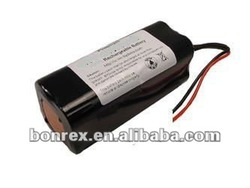 LFP Battery:12.8V 6.6Ah (84Wh, 16A rate) for scuba diving lights