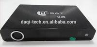 Daqi newest Android XBMC DVB-S/S2 Digital Satellite Receiver IPTV box.