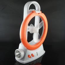 24+1 smt rechargeable multi function hand held camping lantern fan
