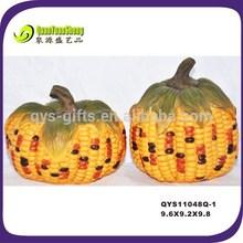Thanksgiving home decorative Fake resin harvest pumpkin
