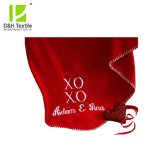 New Style Popular High Quality Promotional Polar Fleece Blanket
