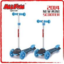 popular plastic 3-wheels kids gift el scooter