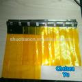 fábrica de alimentos anti inseto amarelo transparente cortina de pvc