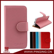 Wholesale High Quality Stand Wallet Flip Leather Case For Samsung Galaxy J N075T