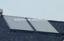 new design rooftop split flat plate solar water heater collector