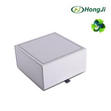 Die cut custom design packaging white window sweet paper box