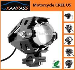 Motorcycle LED Headlight CREE U5 15W 3000LM Waterproof Spot Light led headlight for motorcycle