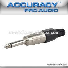 """1/4"""" Mono 6.35mm Jack Audio Connector QT001"""