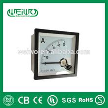 Millivolt 72 Moving Coil instrument DC Voltmeter Panel Meter