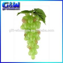 di plastica a buon mercato frutta grandi gruppo di miglior artificiale uva verde per la tavola partito decorativo
