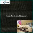 contrast color fabric sofa set used stitch bond raw material