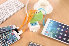 Portable Promotional custom logo smart charger Euro USA US UK plug 36v battery charger