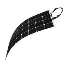 sunpower high efficiency flexible solar panel 100W 12V, solar module panel