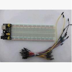 brand new MB102 breadboard + power supply + 65pcs jumper wires