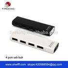 Hot !!! micro usb hub usb 2.0 4 port hub with mobile phone charger