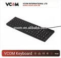 2014 estándar con conexión de cable usb teclado ergonómico para pc y portátil