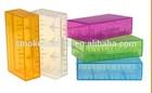 Hot selling!!!big mod plastic 18650 battery holder&colorful mechanical mod battery box