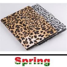 Fashion Sexy Leopard Print Case For iPad Air 2 Smart Case Cover PU Leather Skin Folio Flip Stand Case for iPad 6 Auto Wake/Sleep