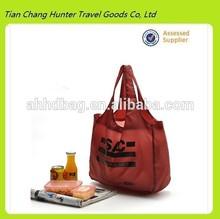 popular tote bag shopping bag of environmental protection foldable bags