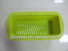 Hot Selling Colorful Food Grade Silicone Microwave Safe Cake Baking Pan