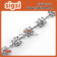 Asfour 888 crystal wedding rhinestone chain