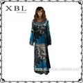 robe de soirée abaya abaya imprimé léopard