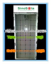 295W Transparent Solar Panel Competitive Price
