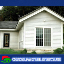 circulation and flexible layout light steel frame villa for sale
