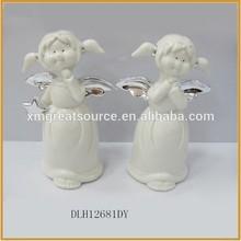 newest ceramic handmade angel figurines angel statue ornament porcelain angel