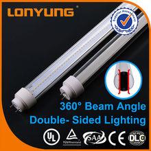 T10 double-side t10 led black light tube /led light to replace fluorescent tube/remote controlled led tube light