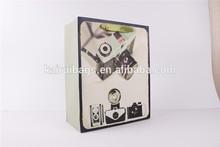 art design photo camera paper bag
