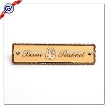 Custom Handbags Metal Logo Badge/Handbag Tag/Pin Badge Holder