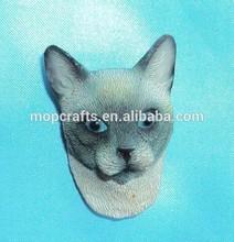 polyresin cat, cat fridge magnet