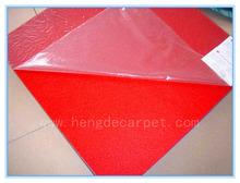 100% polyester nonwoven needle felt cheap carpet for exhibition, exhibition carpet