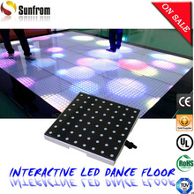 New arrival party DIY slim pro interactive led floor