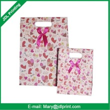 environment friendly recyclable lovely printing paper bag