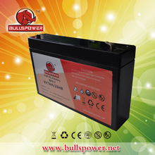 Latest hotsale crystal battery vrla battery price battery 6 volt BP6-7