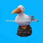 ceramic seagulls for nautical decoration