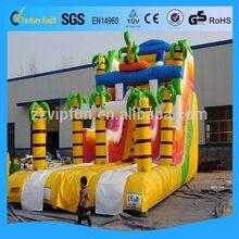 Design latest inflatable land slide