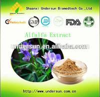 Factory supply top quality Alfalfa extract, bulk alfalfa