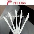 Diferentes color vajillas de mesa de plástico cuchillo para uso