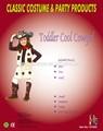bella e carina ragazza di bambino fresco cowgirl vestito costume per bambini