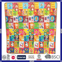 promotional EPE high quality cheap color printed baby play mat