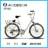 ce electric bike Aodeson TF702 lady bikes lithium electric bicycle auto bike