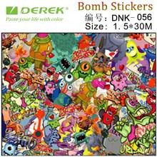 Sticker bomb Sticker Graffiti Art Car Body Film Auto body wrapping vinyl film sticker bomb camouflage vinyl rolls wholesale