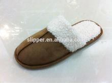 classic soft polar fleece unisex indoor slippers