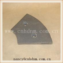 Asphalt mixer blades/high quality scaleboard