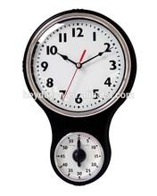 home decor antique kitchen timer wall clock(HD-6198)