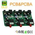 Usb flash drive de placa de circuito del altavoz, fr4 pcba junta, reproductor mp3 junta