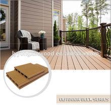 Waterproof wpc all wood flooring, new design wpc composite deck flooring,Insect-resistant floor